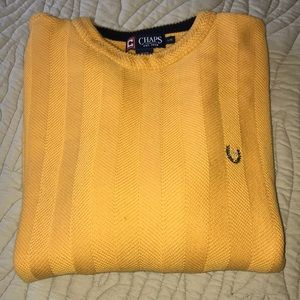 Chaps Cotton Sweater NWOT